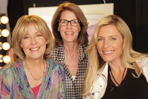 Debbie Zipp and Molly Cheek with Host Brenda Epperson on Motivational Chat